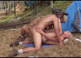 4some Scouts Barebacking