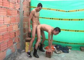 Latino Construction Workers Barebacking