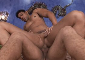 Latinos Alexandre and Andre Fuck Bareback